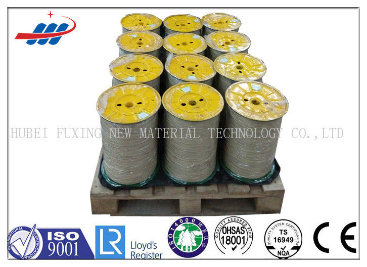 Gold Color Tyre High Tensile Steel Wire With 72A Material , 0.15-0.35mm Wire Gauge