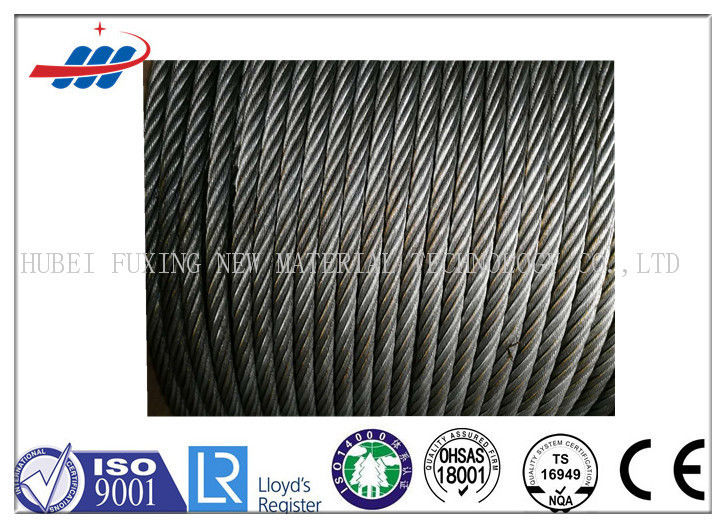 6-48mm Wire Gauge Strong Wire Rope Ungalvanized For Crane , High Strength